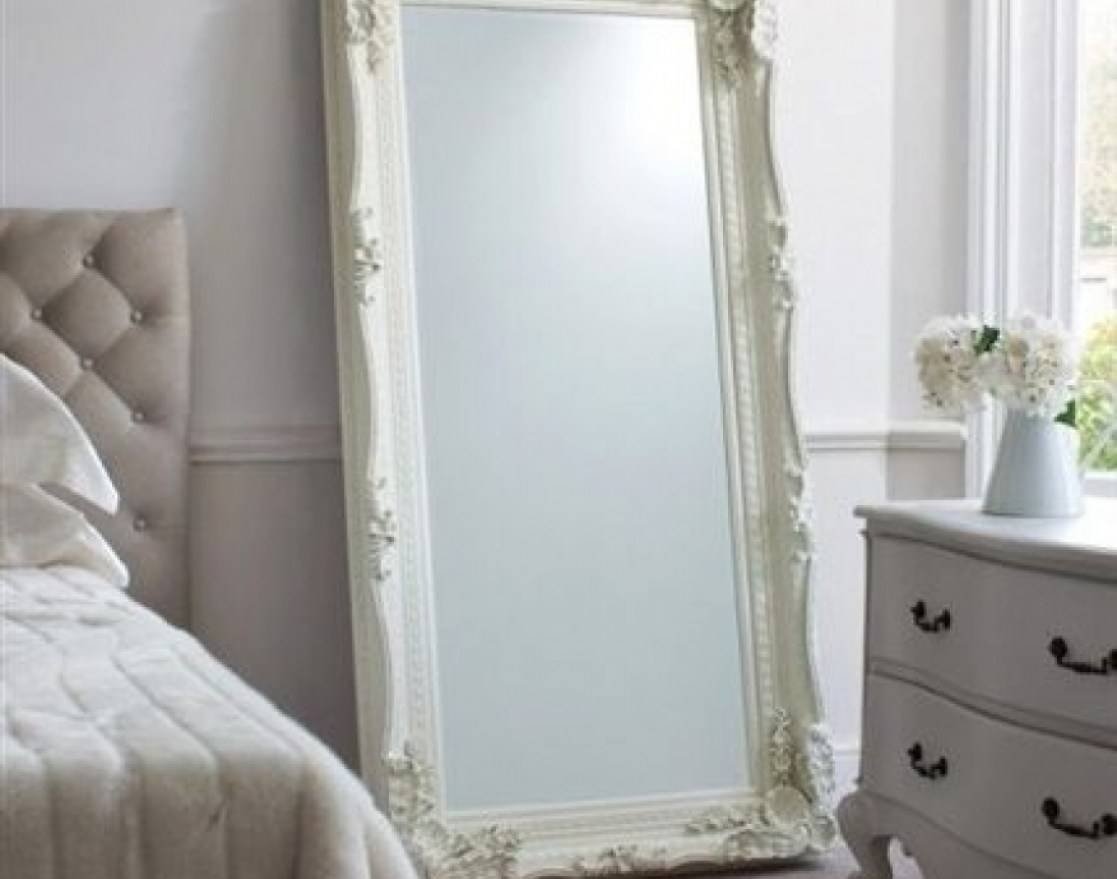 Mirror : Amazing Full Length Ornate Mirror Vintage Style White Intended For Long Vintage Mirrors (View 5 of 15)