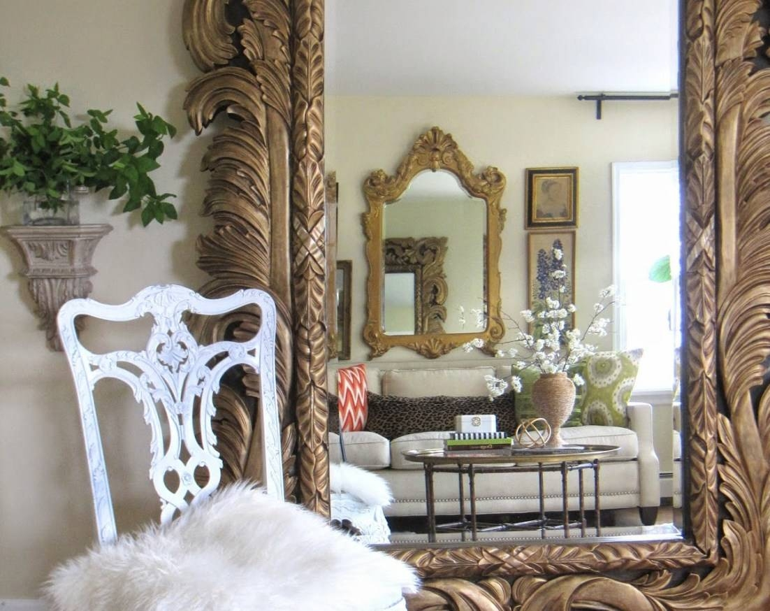 Mirror : Amazing Huge Antique Mirror For Sale Noteworthy Large with regard to Huge Antique Mirrors (Image 11 of 15)