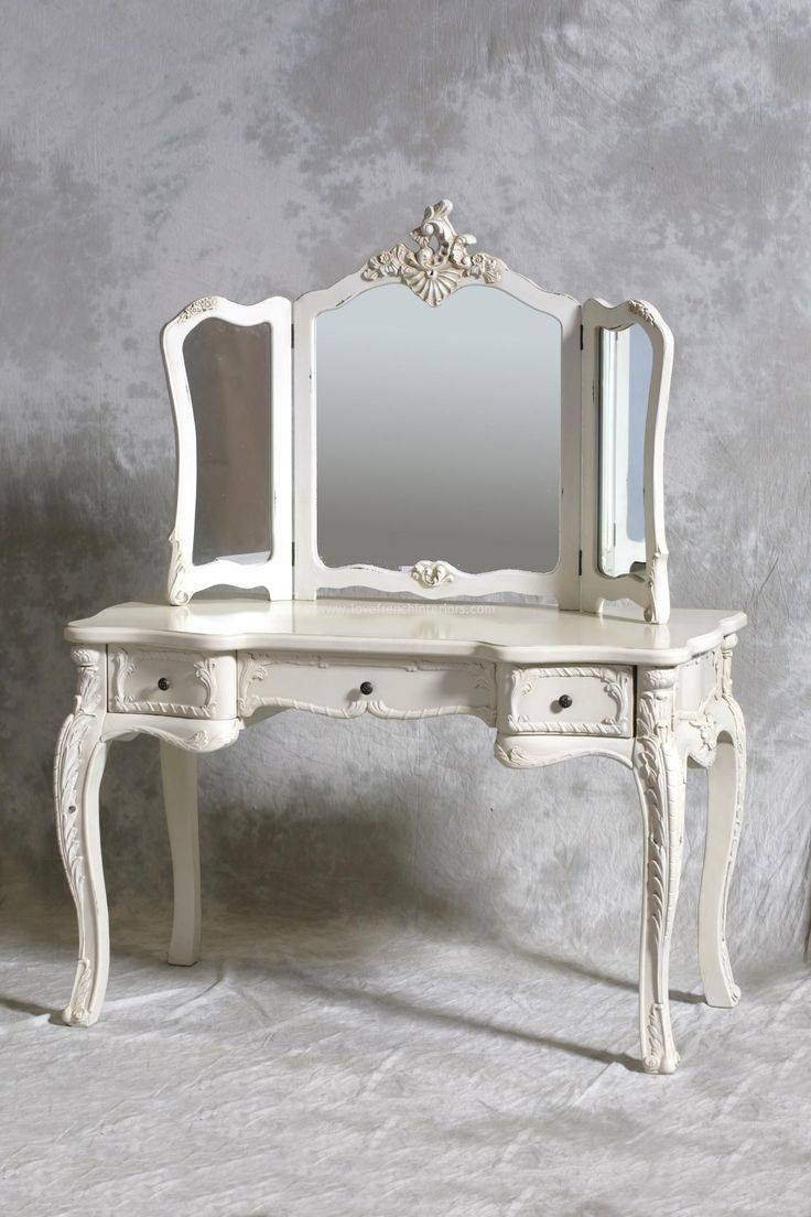 Mirror : Amazing Mirror On Stand For Dressing Table Modern White With Mirrors On Stand For Dressing Table (View 11 of 15)