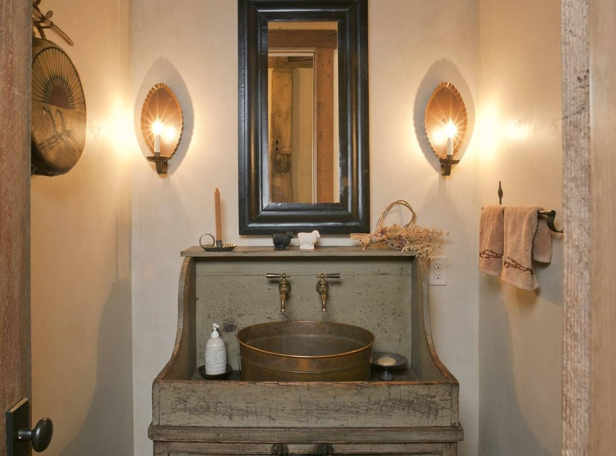 Mirror : Amazing Small Vintage Mirrors Retro Bathroom Idea With Regarding Small Vintage Mirrors (View 7 of 15)