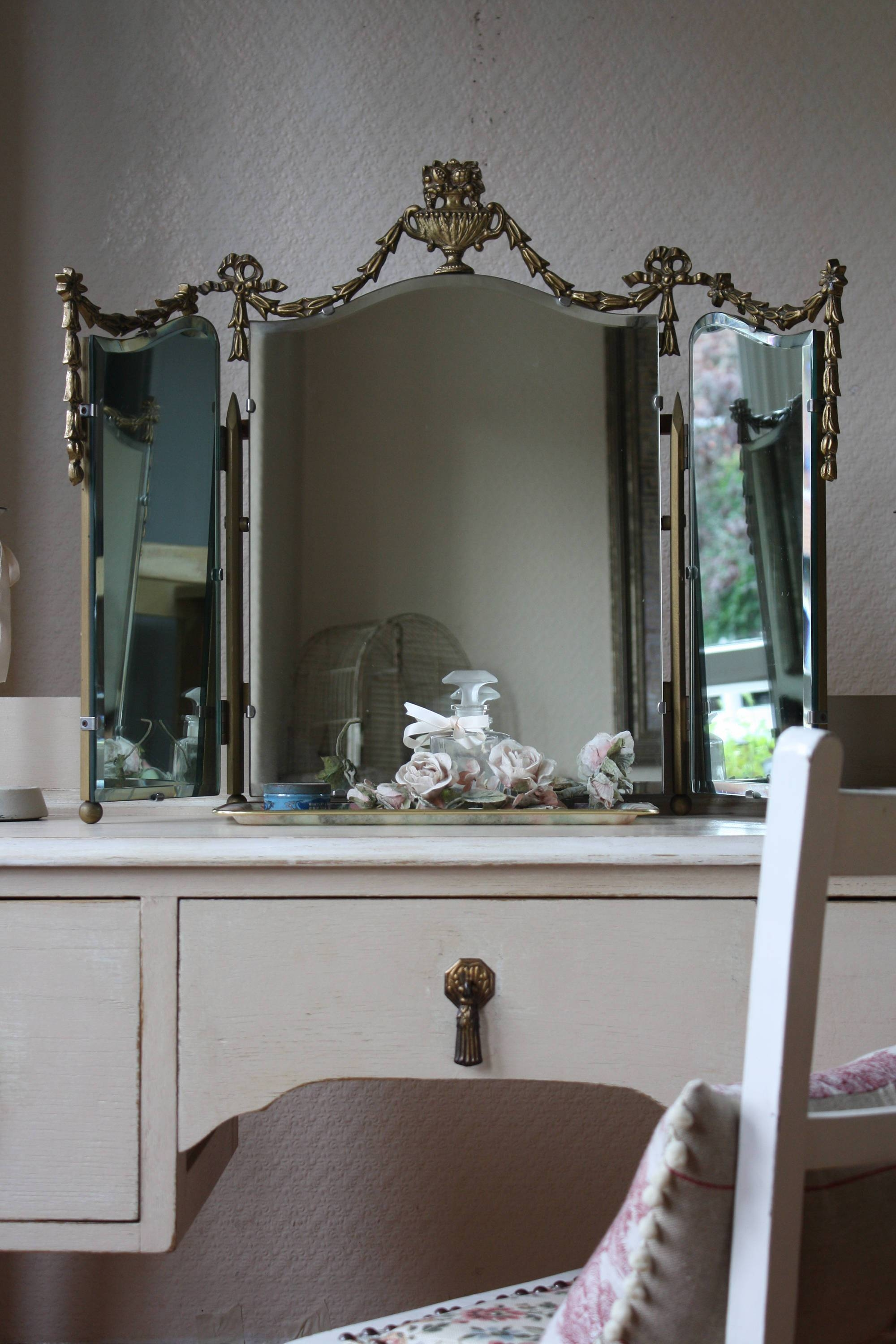 Featured Photo of Antique Triple Mirrors