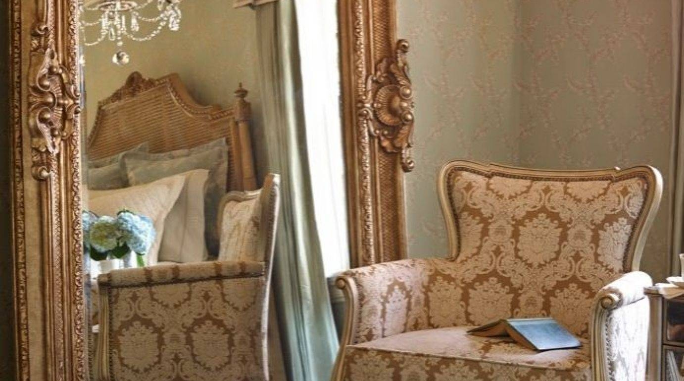 Mirror : Antique White Floor Mirror 17 Awesome Exterior With In Baroque Floor Mirrors (View 3 of 15)