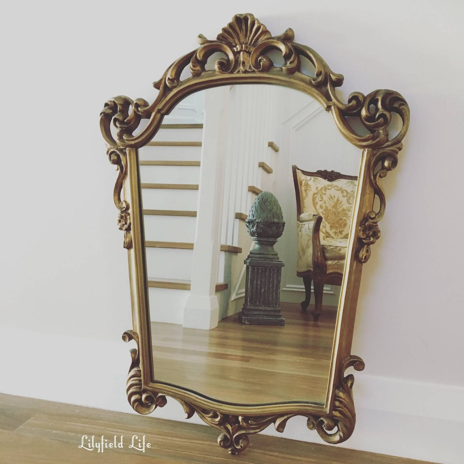 Mirror : As Beautiful Gilt Mirror Beautiful Antique French Gilt For Ornate Gilt Mirrors (View 9 of 15)