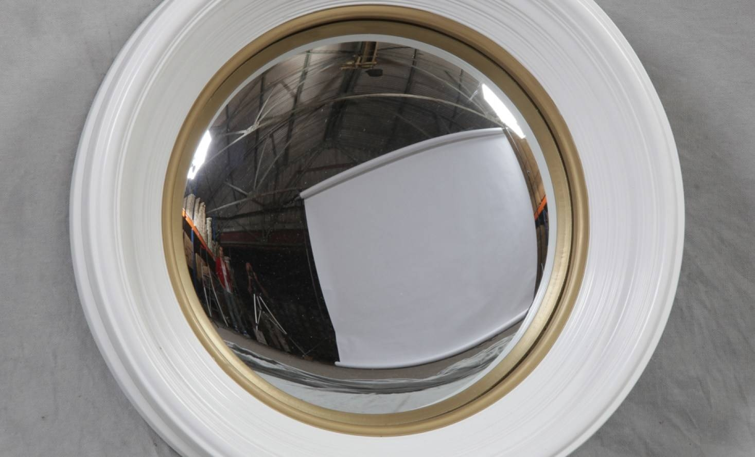 Mirror : Awesome Convex Decorative Mirror Convex Mirror Beguiling For White Convex Mirrors (View 3 of 15)