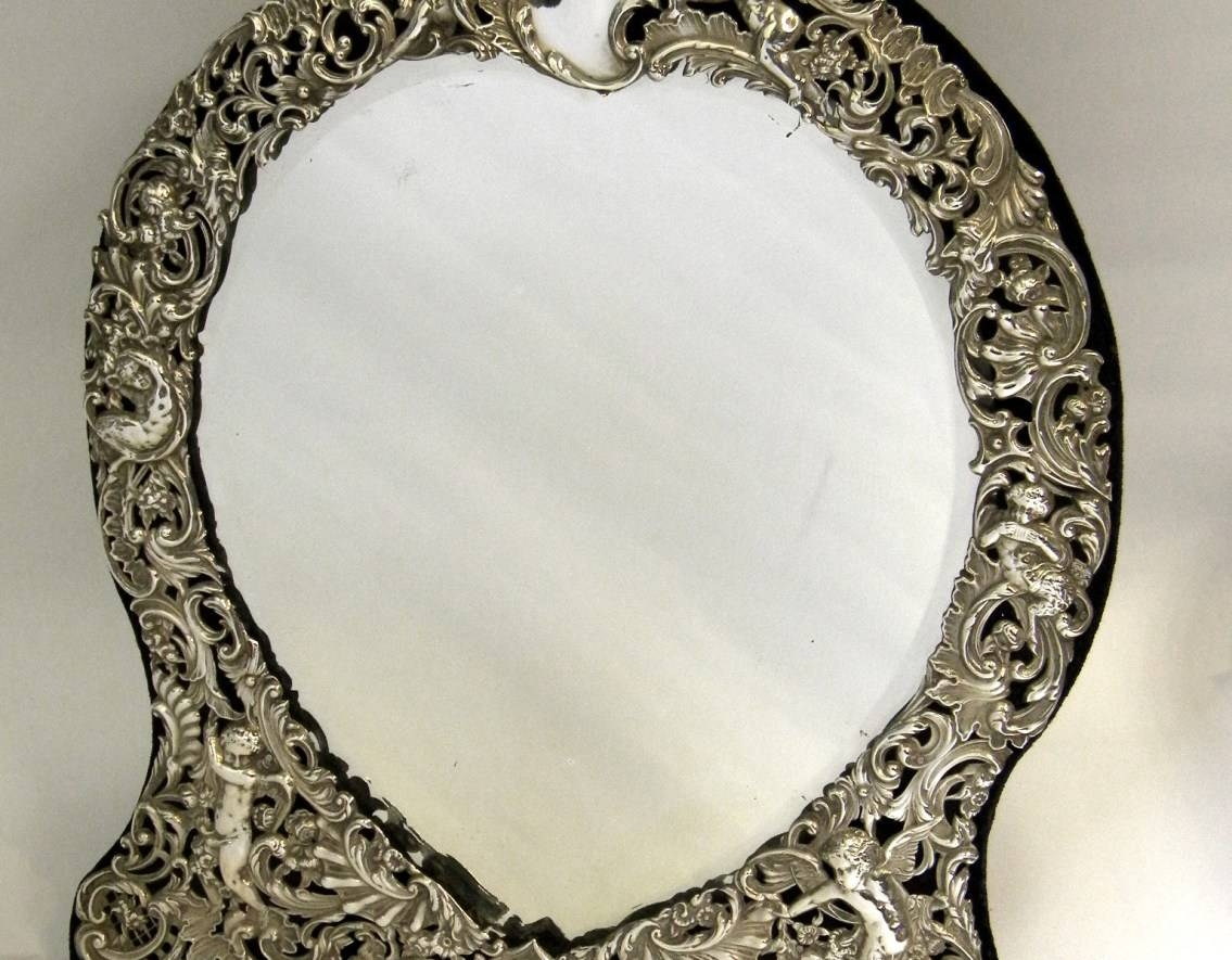 Mirror : Awesome Victorian French Bathroom Mirrors 72 In With pertaining to Victorian Style Mirrors (Image 9 of 15)