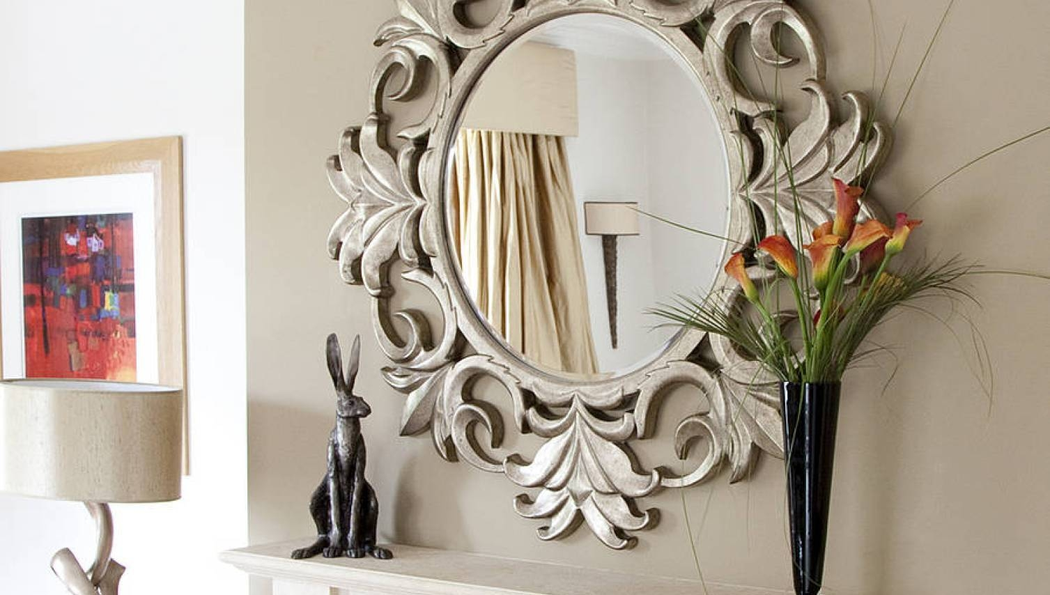 Mirror : B Beautiful Large Antique Mirrors Large Cream Vintage with Antique Cream Wall Mirrors (Image 8 of 15)