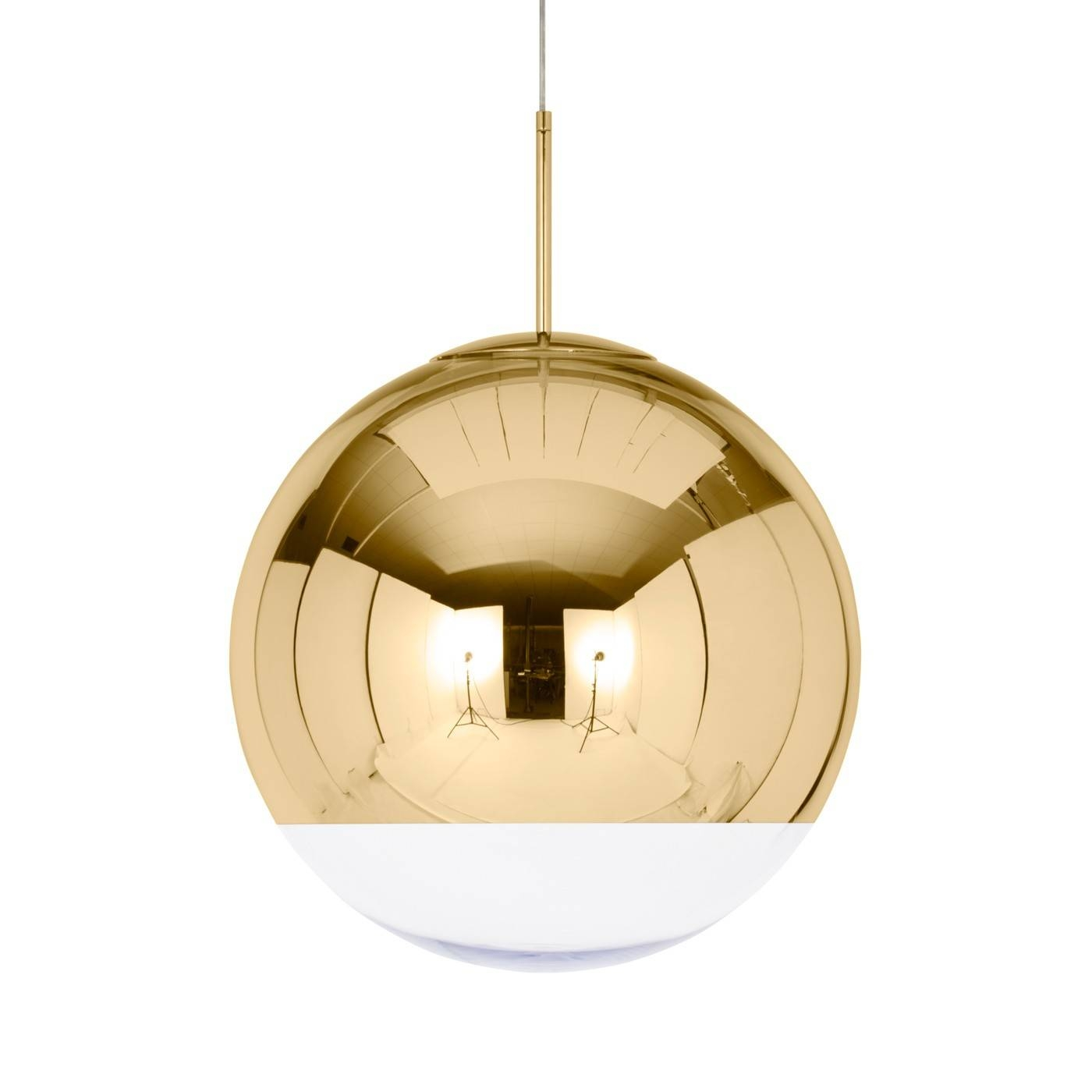 Mirror Ball Pendant Light Pertaining To Ceiling Light Mirrors (View 11 of 15)