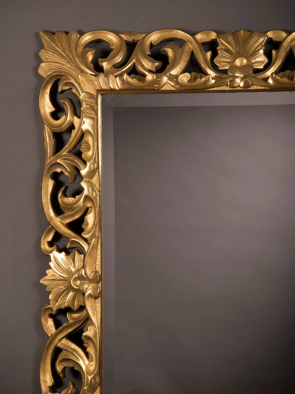 Mirror : Baroque Gold Mirror Charm Small Gold Baroque Mirror in Baroque Gold Mirrors (Image 10 of 15)