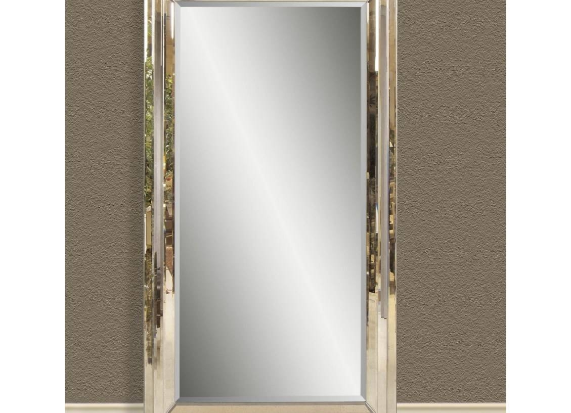 Mirror : Bathroom Mirror Ideas Stunning Beveled Full Length Mirror In Beveled Full Length Mirrors (View 7 of 15)
