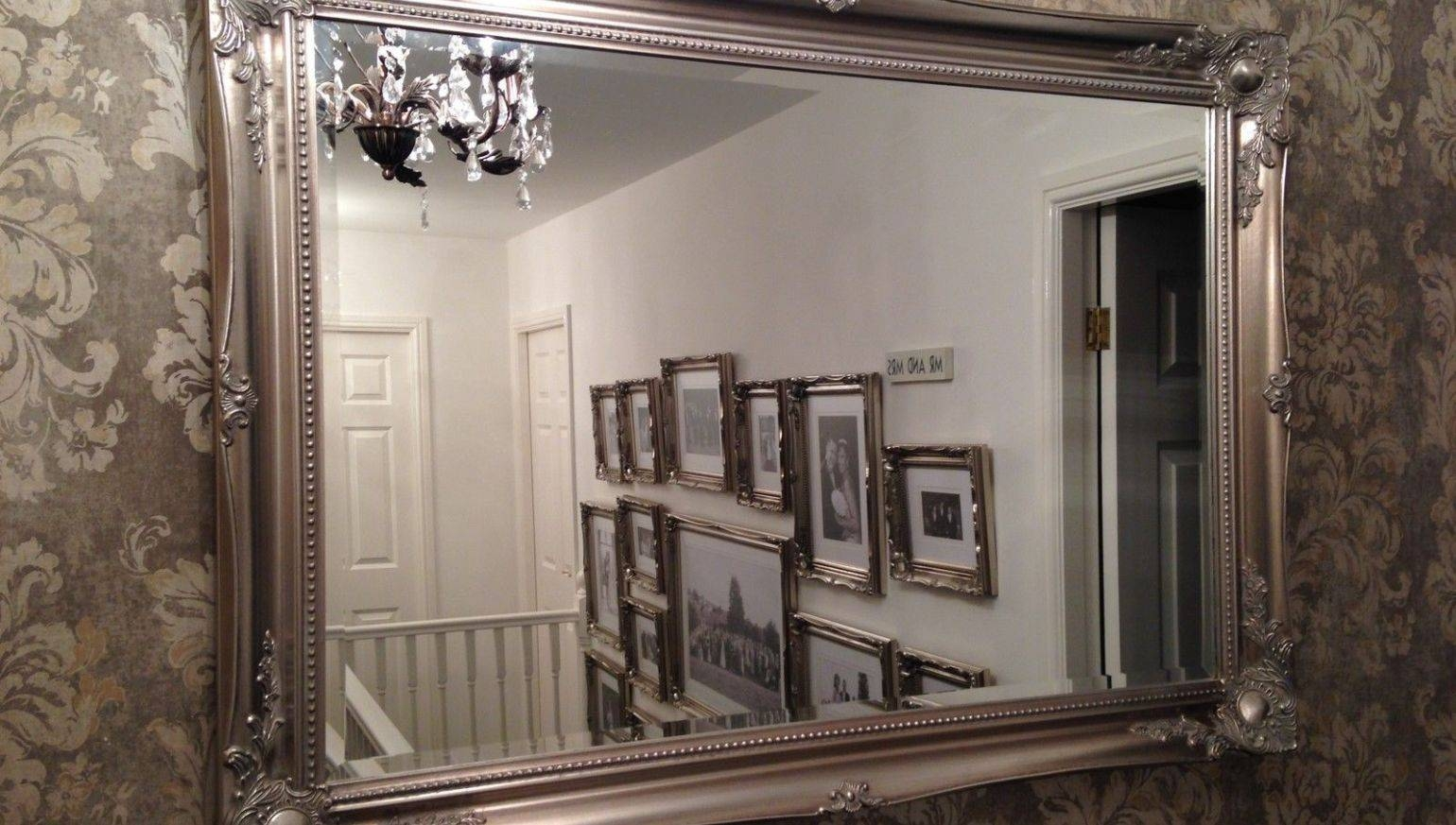 Mirror : Beautiful Bathroom Mirrors Shabby Chic 71 With Additional within Big Shabby Chic Mirrors (Image 5 of 15)