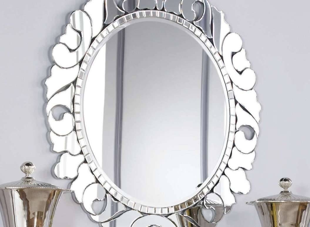 Mirror : Best Oval Mirror Bathroom Small Shaped Wonderful Oval In Oval Shaped Wall Mirrors (View 5 of 15)