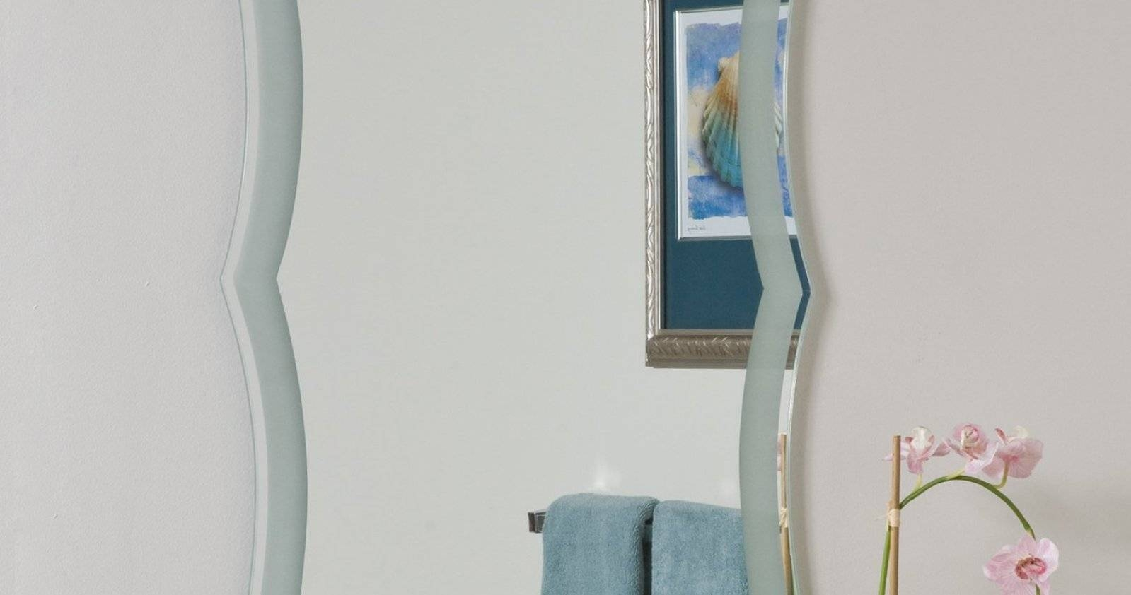 Mirror : Chamfered Edge Mirror Enchanting Bevelled Edge Mirror Regarding Chamfered Edge Mirrors (View 8 of 15)
