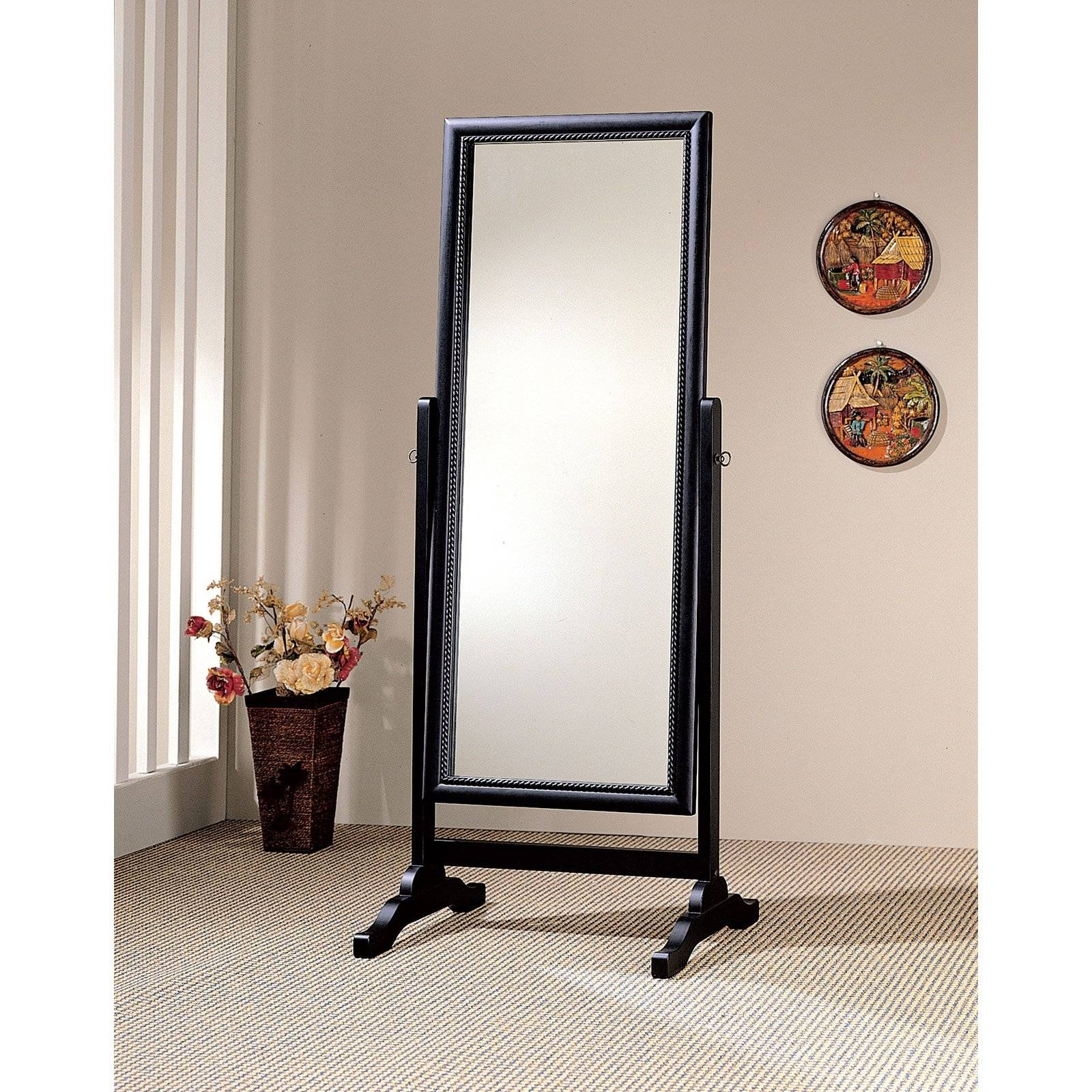 Mirror : Cheval Freestanding Mirror Rare Cheval Free Standing With Regard To Cheval Free Standing Mirrors (View 14 of 15)