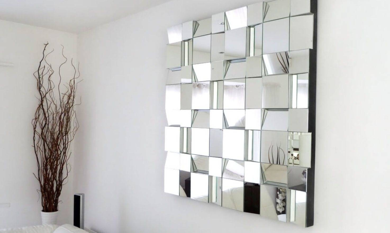 Mirror : Contemporary Wall Mirrors Decor Awesome Modern with regard to Modern Contemporary Mirrors (Image 9 of 15)