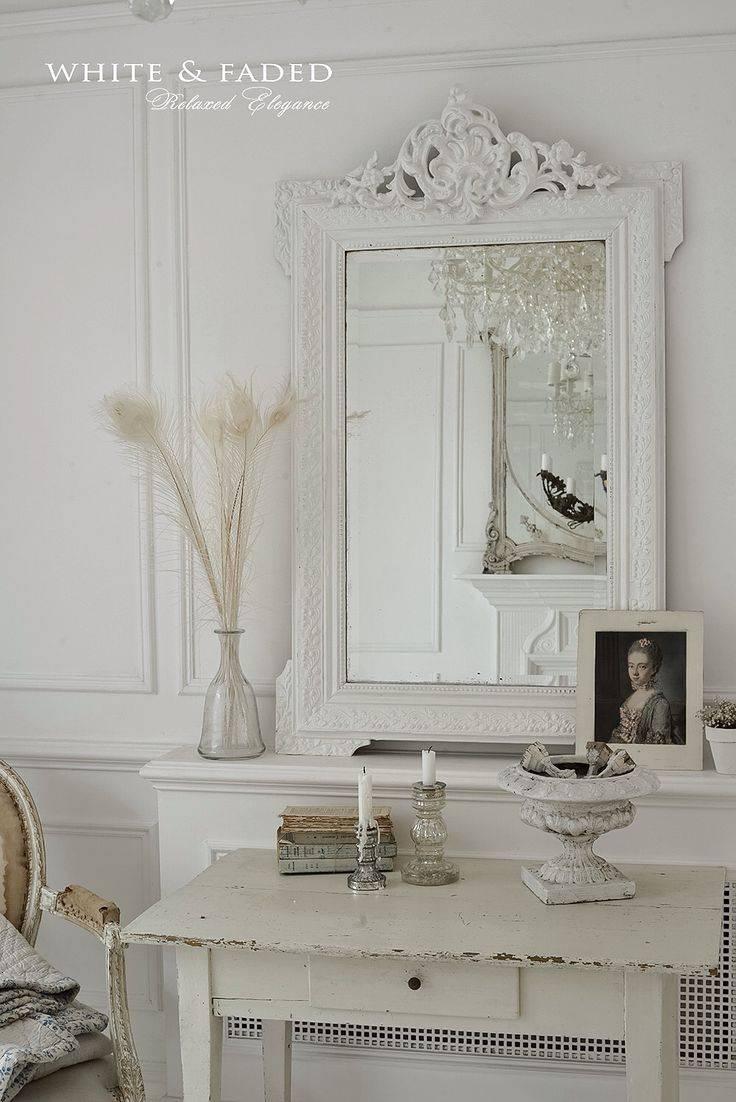 Mirror : Cream Shabby Chic Mirror Terrific Cream Shabby Chic Wall within Cream Shabby Chic Mirrors (Image 7 of 15)
