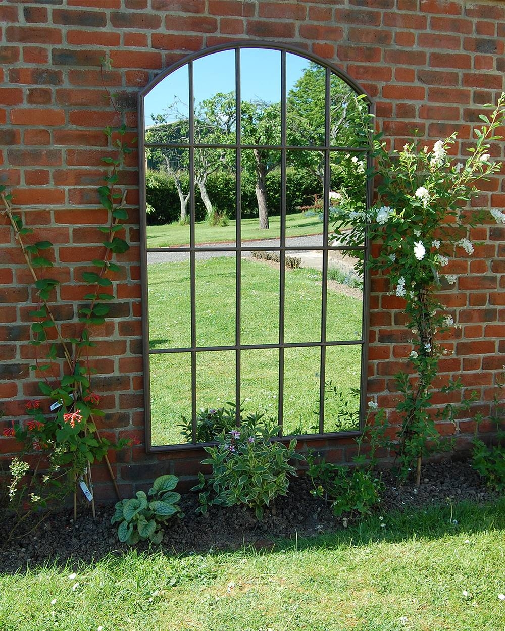 Mirror : Decorate A Mirror Stunning Large Outdoor Garden Mirrors intended for Large Outdoor Garden Mirrors (Image 4 of 15)