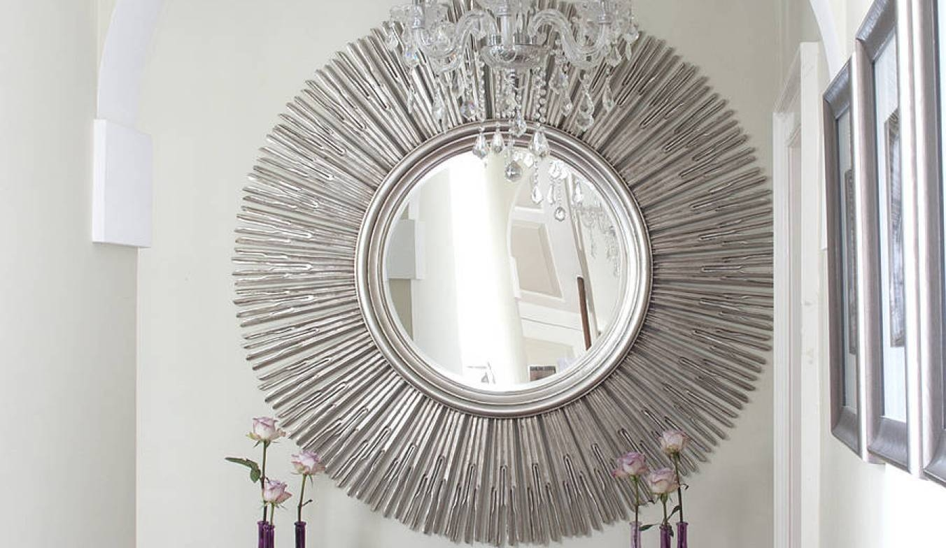 Mirror : Decorative Contemporary Mirrors Ideas Amazing Pertaining To Round Contemporary Mirrors (View 6 of 15)