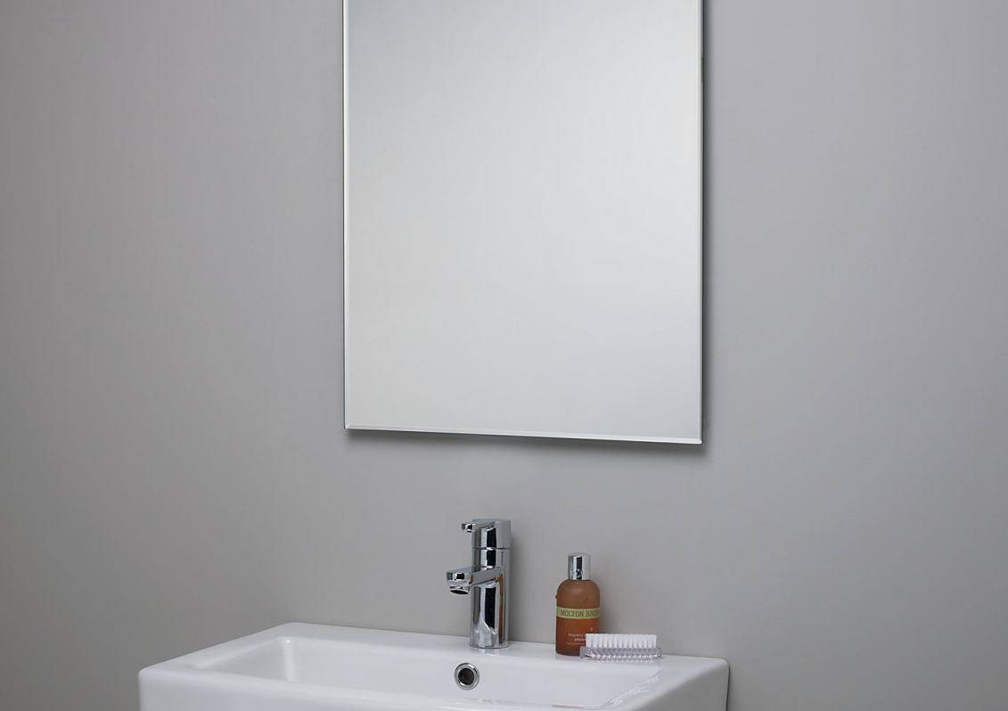 Mirror : Enjoyable Bevelled Edge Mirror Plates Favorable Beveled In Chamfered Edge Mirrors (View 9 of 15)