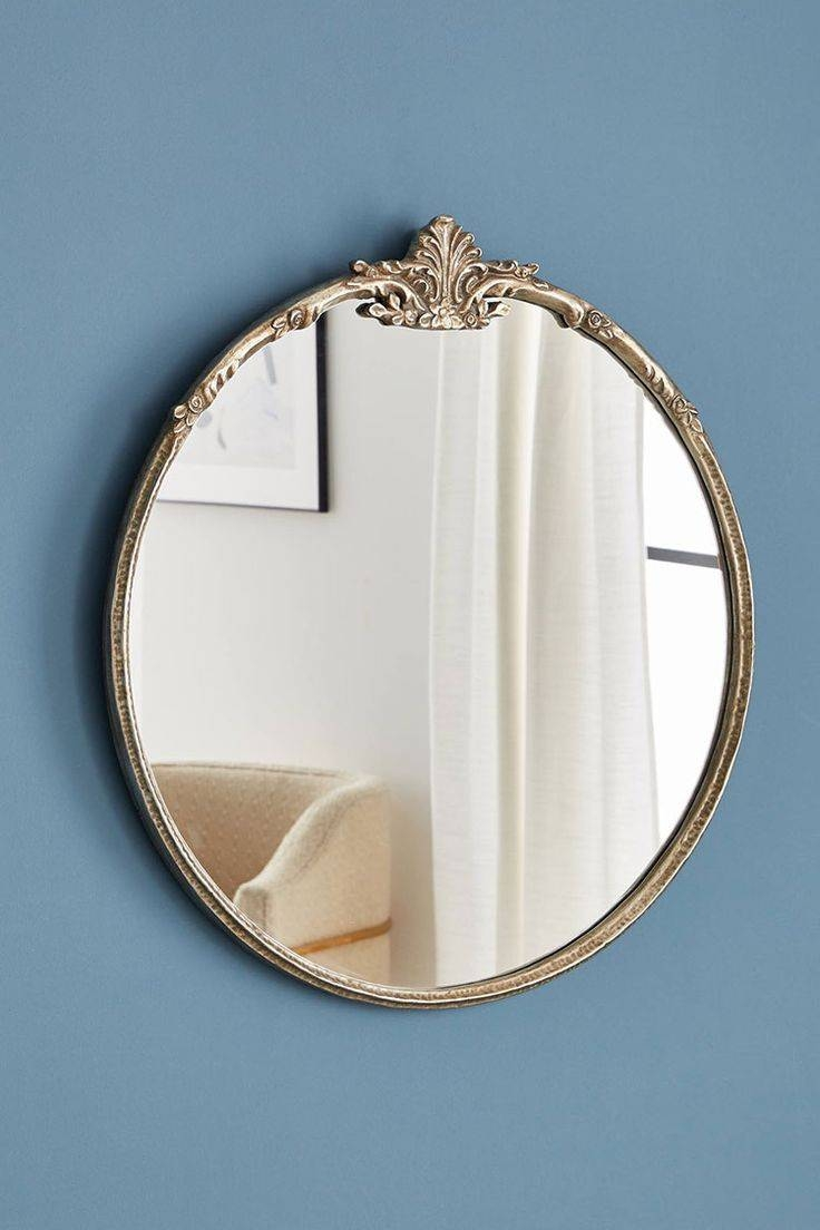 Mirror : Exceptional Buchon Round Bubble Wall Mirror Popular Pertaining To Round Bubble Mirrors (View 13 of 15)