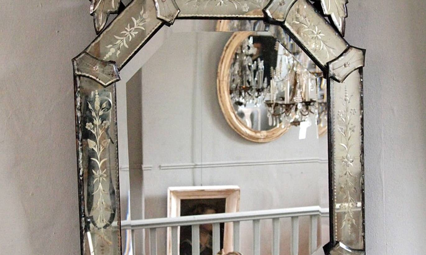 Mirror : Extra Large Venetian Mirror Rare Extra Large Venetian intended for Extra Large Venetian Mirrors (Image 5 of 15)