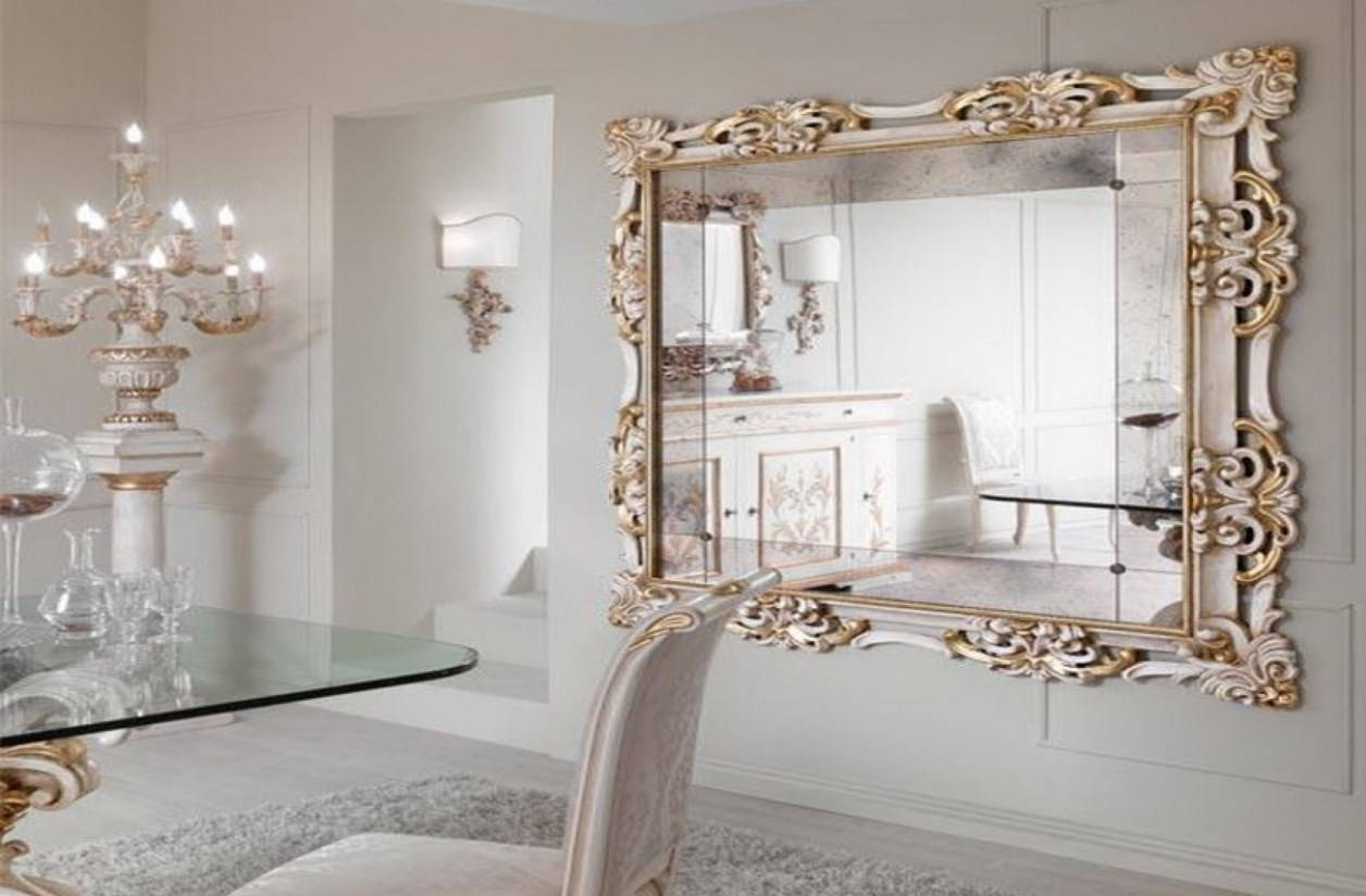 Mirror : Floor Mirrors Stunning Large Ornate Silver Mirror Ornate Within Ornate Floor Mirrors (View 3 of 15)