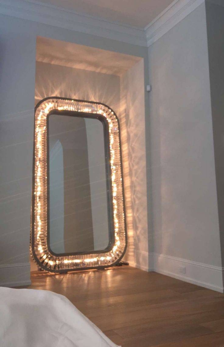 Mirror : Flooring Tall Standing Mirrors Leaning Floor Mirror Full in Huge Standing Mirrors (Image 10 of 15)
