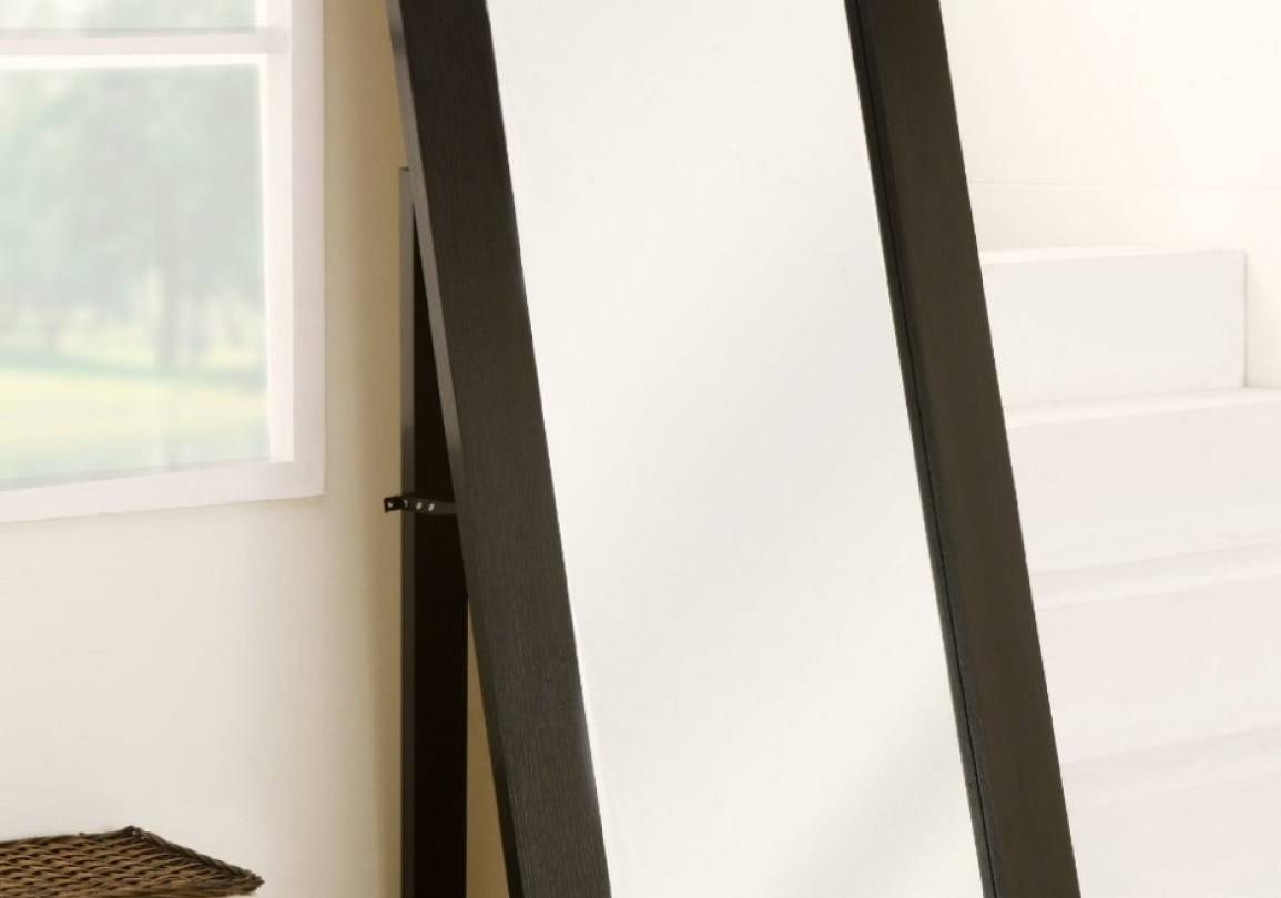 Mirror : Free Standing Mirror Full Length Stunning Contemporary In Contemporary Floor Standing Mirrors (View 2 of 15)
