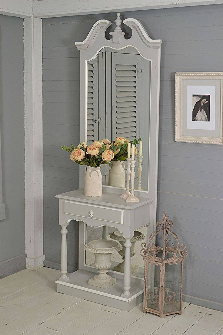 Mirror : Free Standing Shabby Chic Mirror Hypnotizing Large Free regarding Free Standing Shabby Chic Mirrors (Image 5 of 15)