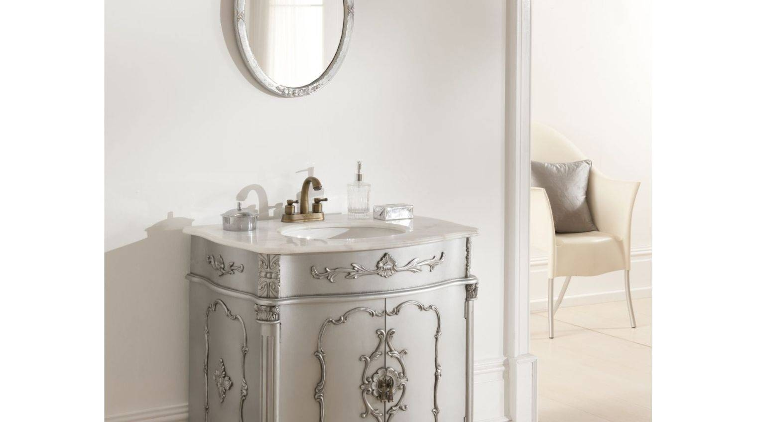 Mirror : French Country Bathroom Mirrors Home Within French Style within French Style Bathroom Mirrors (Image 12 of 15)