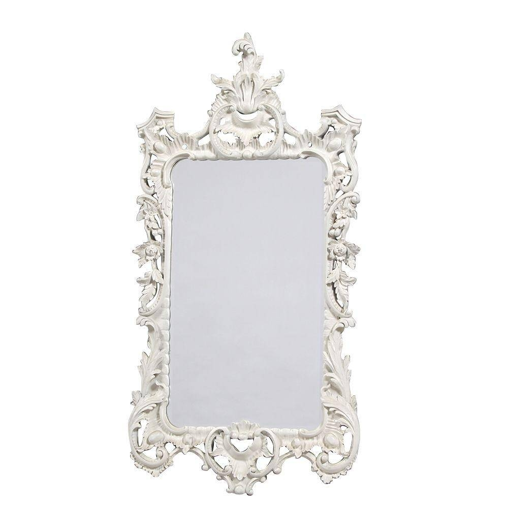 Mirror : French Style Louis Philippe Mirrors Are Available Amazing Pertaining To French White Mirrors (View 6 of 15)