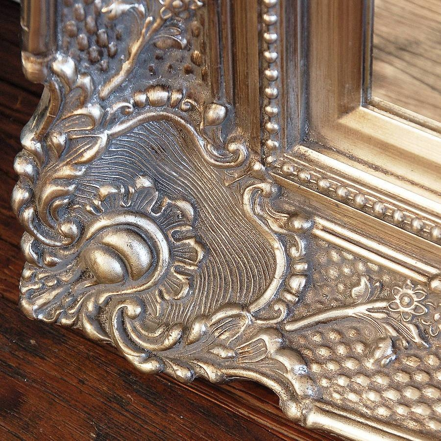 Mirror : Full Length Mirrors Beautiful Champagne Mirror Stunning With Champagne Silver Mirrors (View 6 of 15)