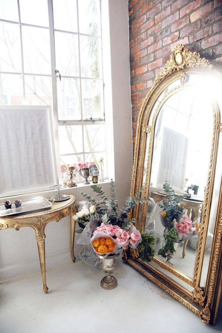 Mirror : Full Length Mirrors Ikea Within White Baroque Floor In Baroque Floor Mirrors (View 9 of 15)