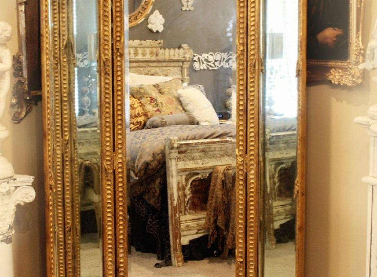 Mirror : Full Length Vintage Mirrors Amazing Antique Full Length Inside Antique Full Length Wall Mirrors (View 8 of 15)
