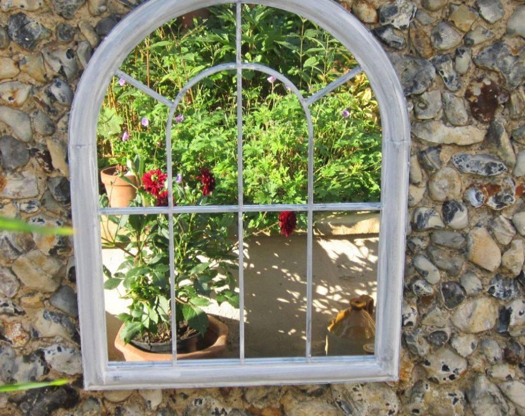 Mirror : Garden Mirror Beautiful Gothic Garden Mirrors Garden intended for Gothic Garden Mirrors (Image 13 of 15)