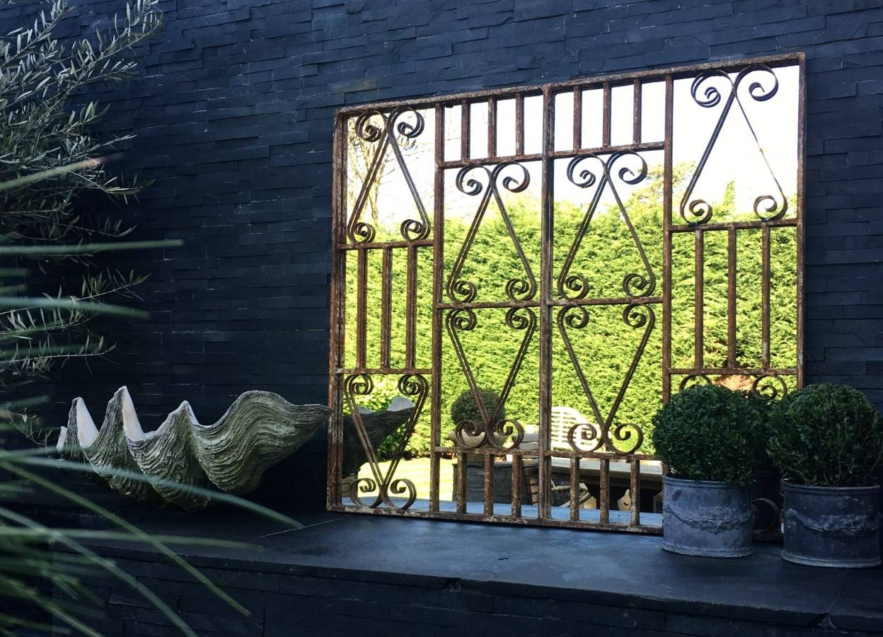 Mirror : Garden Mirrors Beautiful Large Garden Mirrors Extra Large intended for Large Outdoor Garden Mirrors (Image 5 of 15)