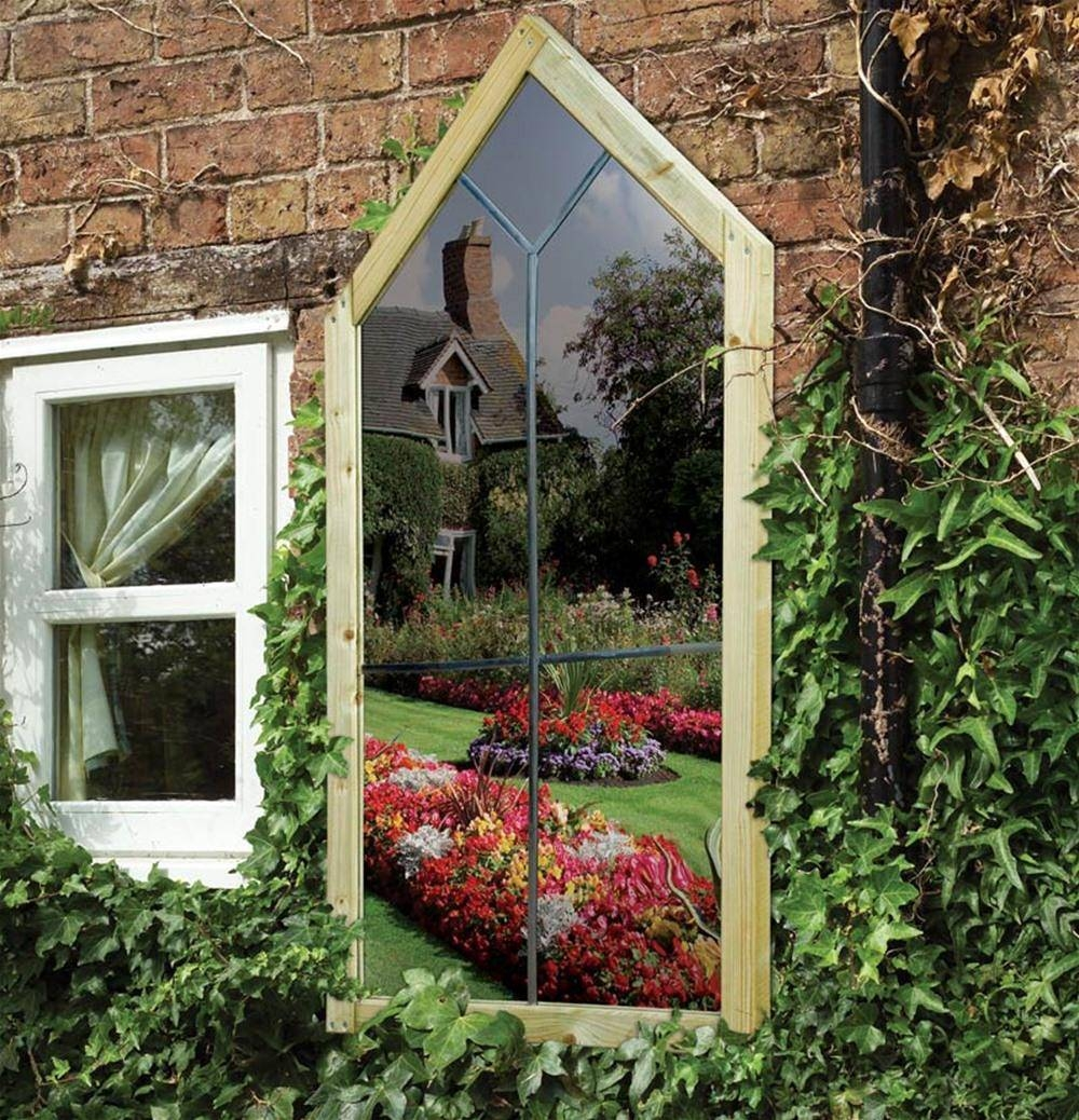 Mirror : Garden Mirrors Category Intended For Large Outdoor Garden Inside Large Outdoor Garden Mirrors (View 6 of 15)