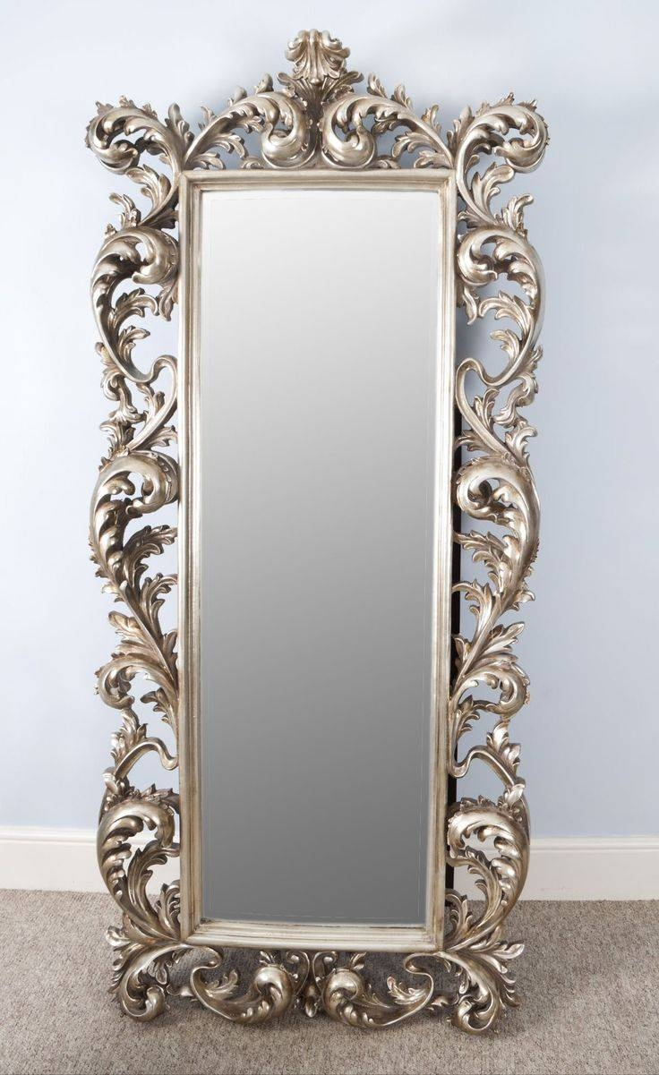 Mirror : Gold Standing Mirror Dazzle Large Gold Free Standing For Full Length Gold Mirrors (View 11 of 15)