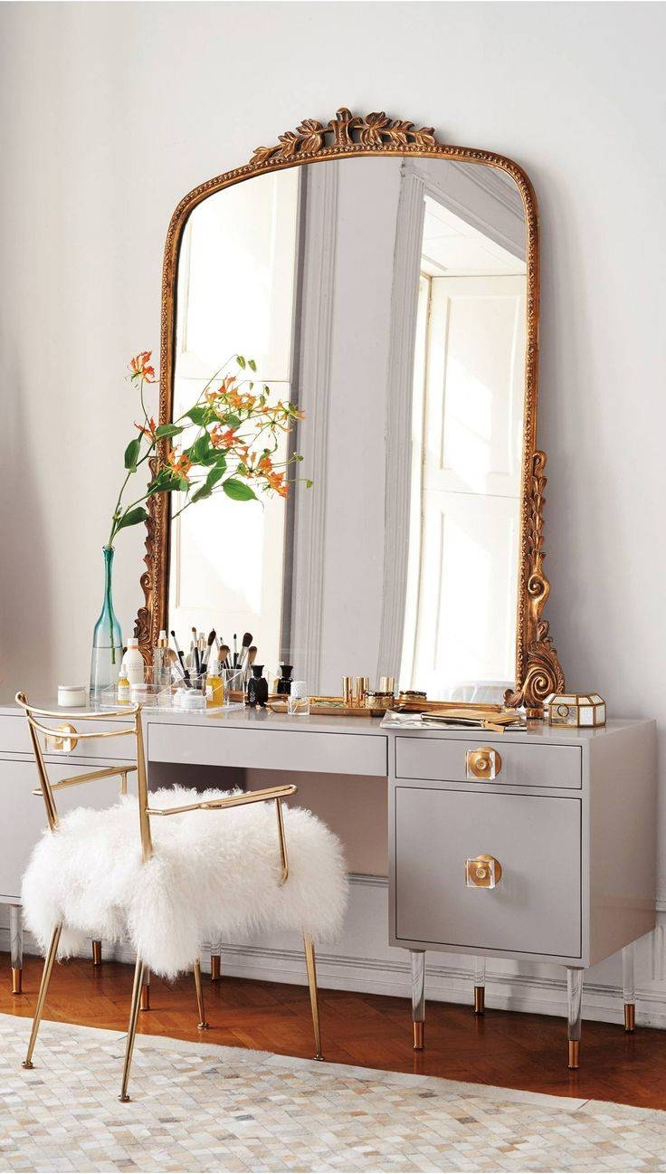 Mirror Gold Standing Dazzle Large Free Inside Big Mirrors Photo