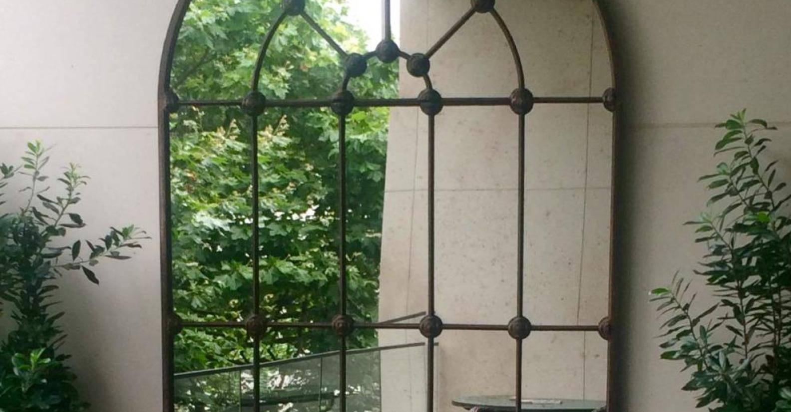 Mirror : Gothic Garden Mirrors Superb Gothic Style Garden Mirrors throughout Gothic Garden Mirrors (Image 15 of 15)