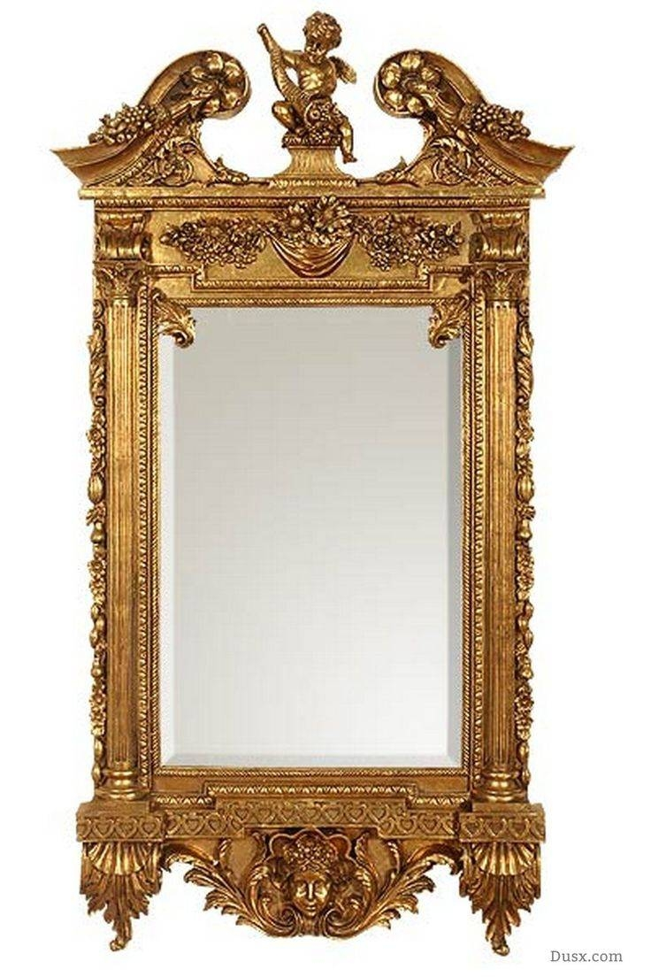 Mirror : House Awesome Gold Rococo Mirror French Rococo Antique Intended For French Rococo Mirrors (View 9 of 15)