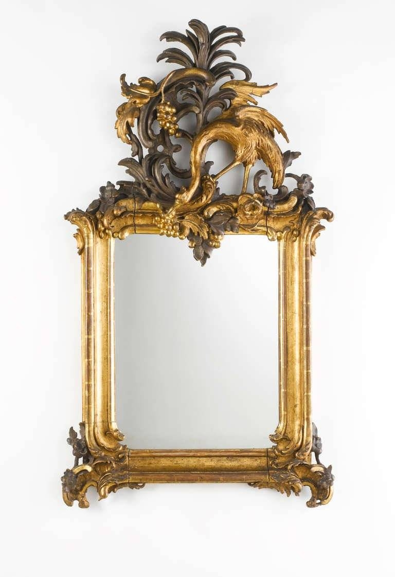 Mirror : Id F Wonderful Rococo Mirror Cheap Italian Carved And regarding Large Rococo Mirrors (Image 9 of 15)