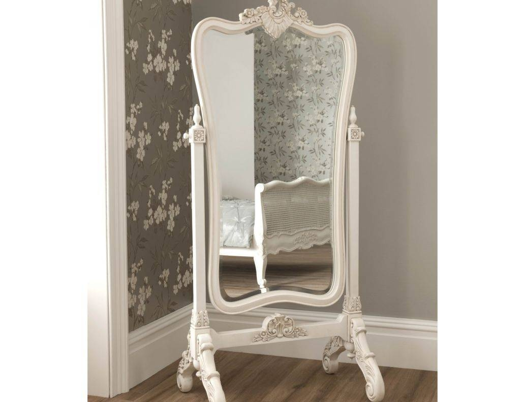 Featured Photo of Free Standing Shabby Chic Mirrors