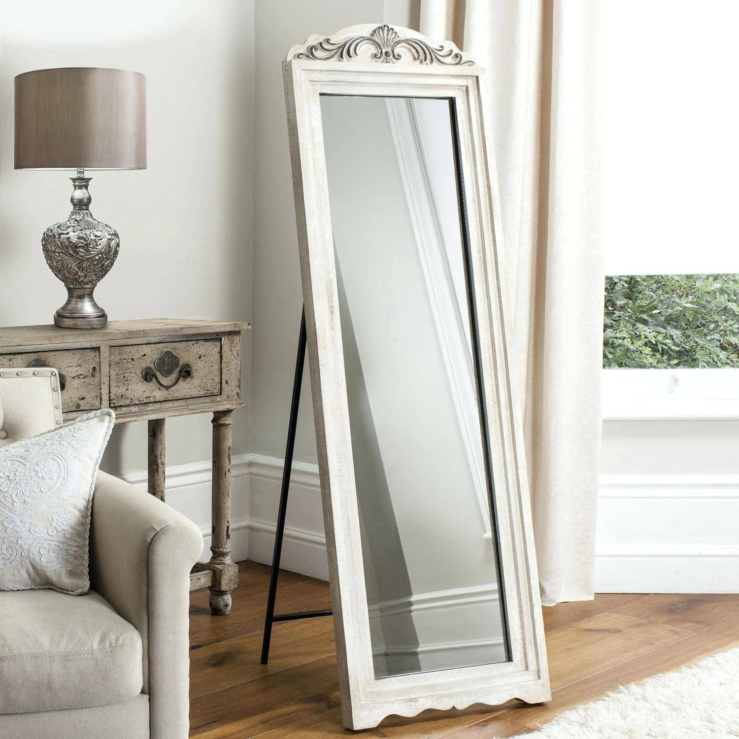 Mirror Jewelry Armoire – Abolishmcrm Regarding Black Floor Standing Mirrors (View 4 of 15)