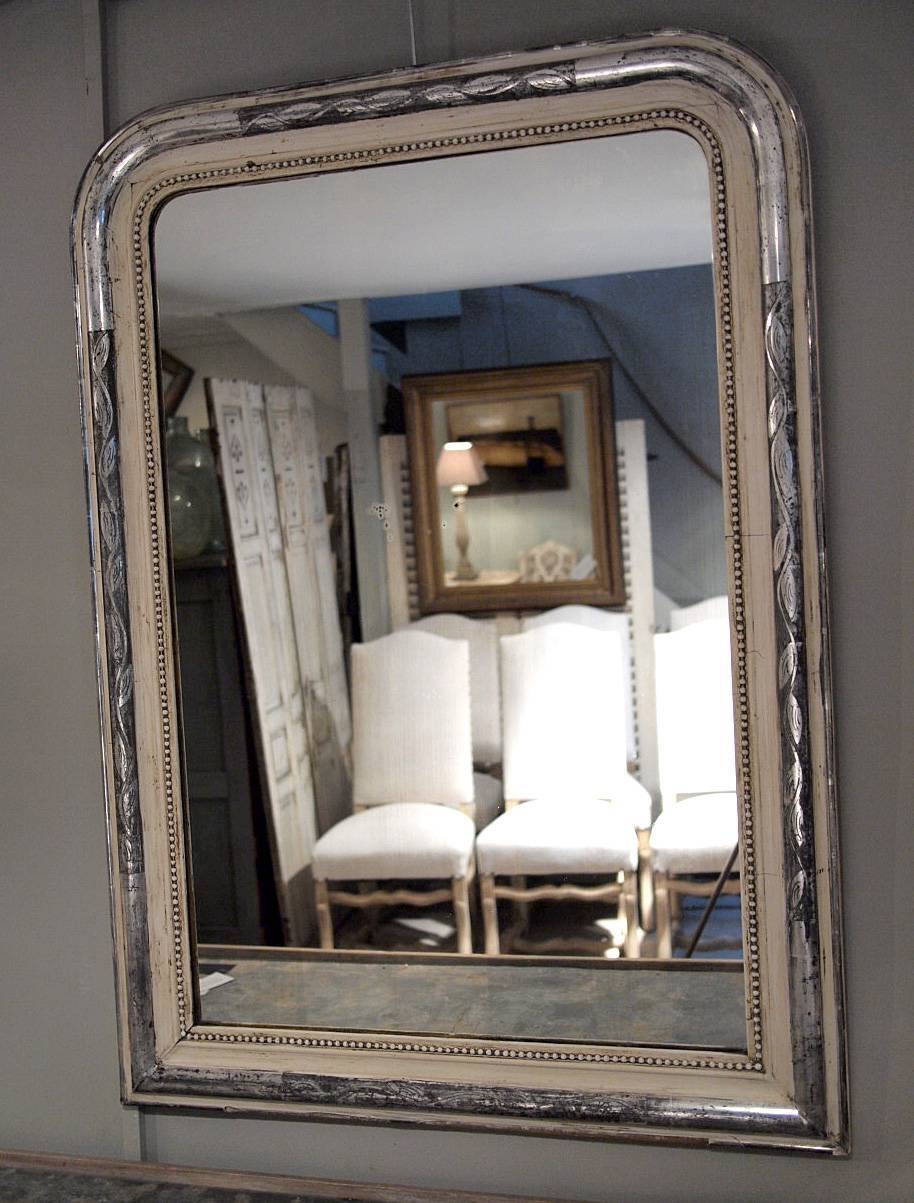 Mirror : Large French Silver Gilt Mirror › Puckhaber Decorative Inside Large Silver Gilt Mirrors (View 7 of 15)