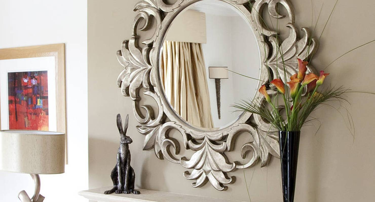Mirror : Large Ornamental Mirrors Satisfying Large Ornate Mirrors with Large Ornamental Mirrors (Image 7 of 15)