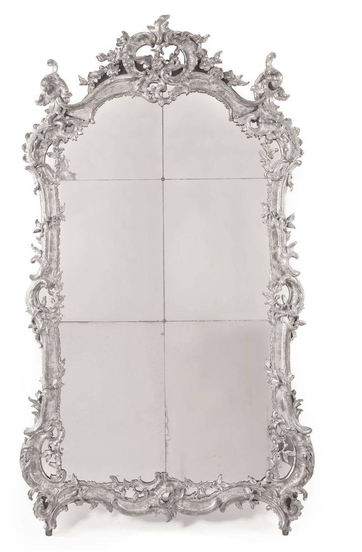 Mirror : Large Rococo Mirror Beguiling Large Gold Rococo Mirror throughout Large Rococo Mirrors (Image 10 of 15)