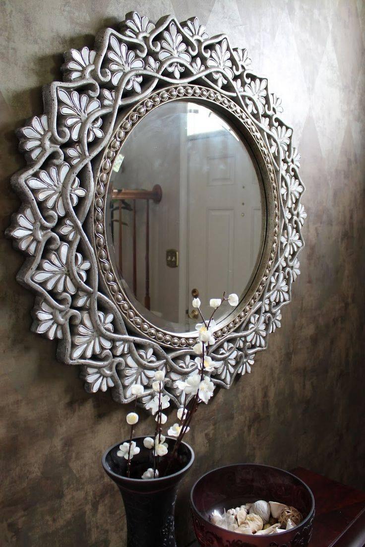 Mirror : Large Round Mirror Stunning Large Bubble Mirror Umbra In Large Bubble Mirrors (View 7 of 15)