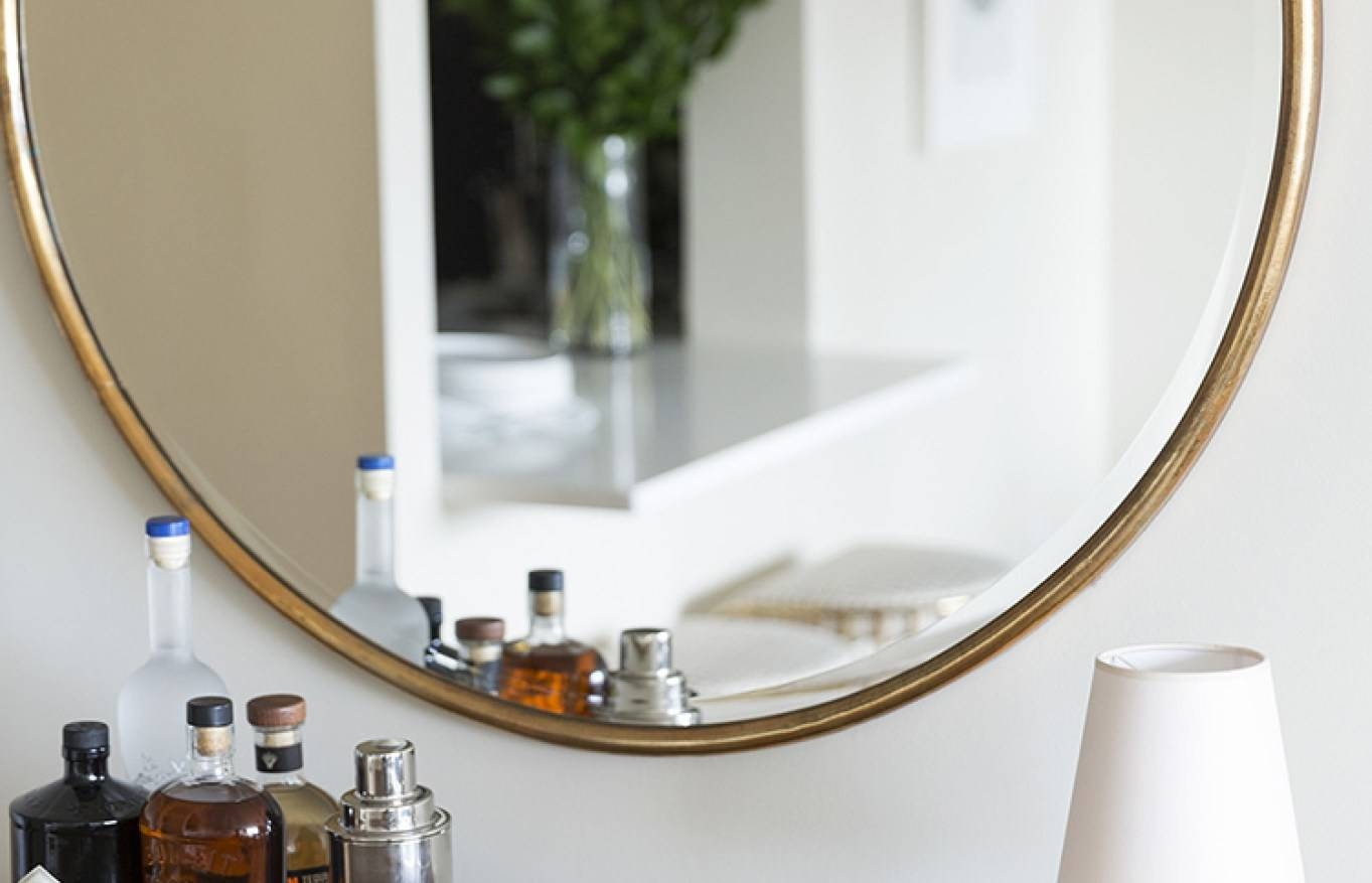 Mirror : Large Round Wall Mirror Amazing Huge Round Mirror Side Pertaining To Huge Round Mirrors (View 13 of 15)