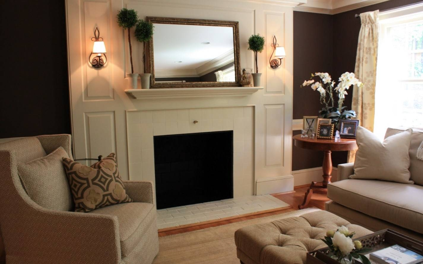Mirror : Mirror Over Fireplace Mantel Fireplace Mantel Design pertaining to Mantle Mirrors (Image 13 of 15)