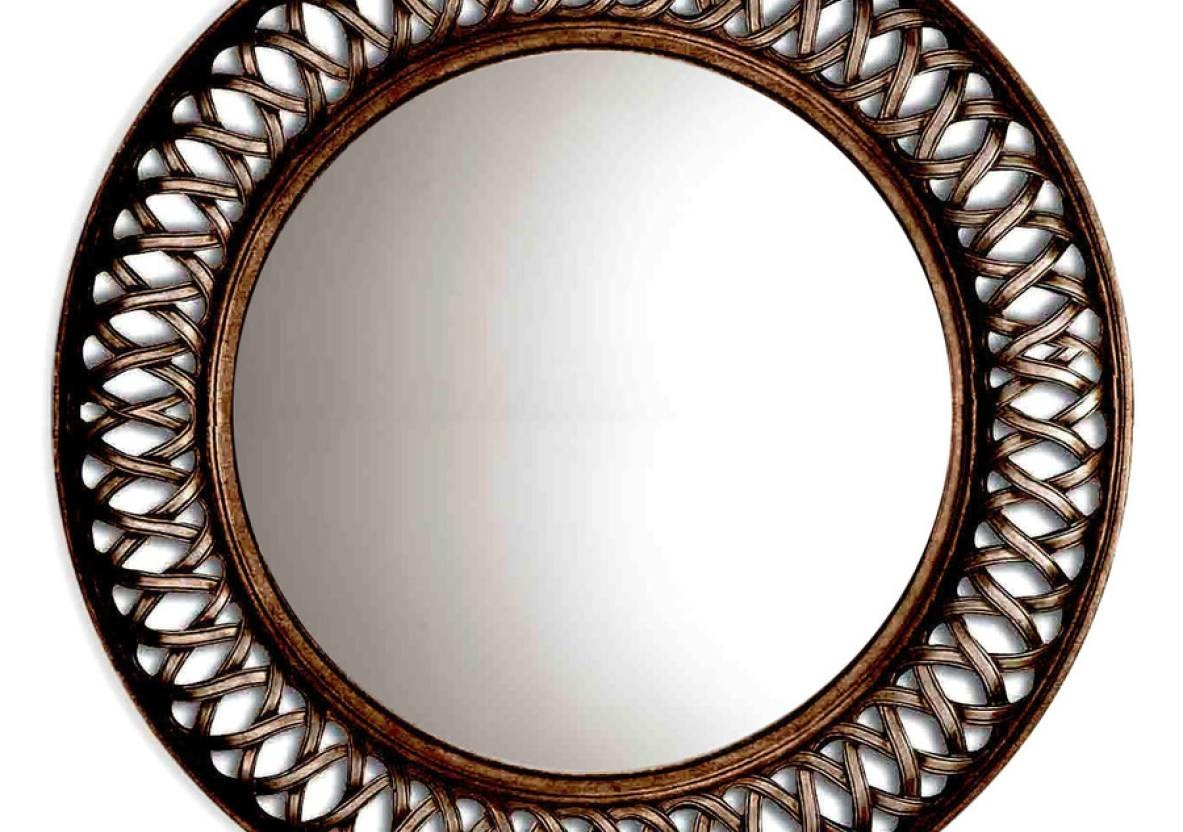 Featured Photo of Large Round Metal Mirrors